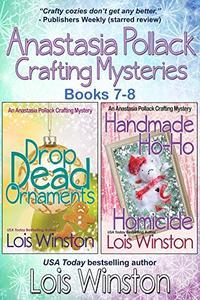 Anastasia Pollack Crafting Mysteries Boxed Set: Books 7-8