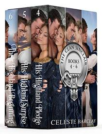 The Clan Sinclair Collection Books 4-6: A Steamy Highlander Romance Box Set