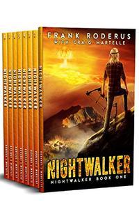 The Nightwalker Complete 8-Book Omnibus: A Post-Apocalyptic Western Adventure