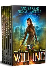 I Fear No Evil Complete Series Omnibus: Kill the Willing, Bury the Past But Shoot It First, Reload Faster, Dead In Plain Sight, Tomb Raiding PHD, Tomb Raider Emeritus
