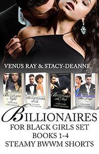 Billionaires for Black Girls Set Books 1-4: Steamy BWWM Shorts