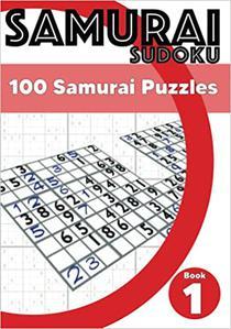Samurai Sudoku: 100 Samurai Sudoku Puzzles For Adults - Book 1