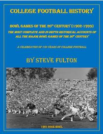 "College Football History ""Bowl Games of the 20th Century"""