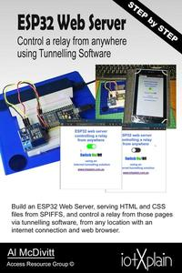 ESP32 Web Server Control a Relay From Anywhere Using Tunnelling Software