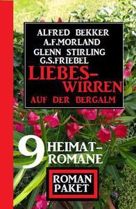 Liebeswirren auf der Bergalm: Roman Paket 9 Heimatromane