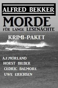 Morde für lange Lesenächte: Krimi-Paket