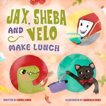 Jax, Sheba and Velo Make Lunch