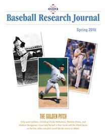 Spring 2016 Baseball Research Journal