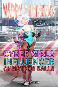 Cyber Girls: Christmas Balls