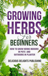 Growing Herbs For Beginners: How to Grow Herbs Indoors in Pots And Outdoors in Planter