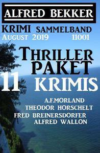 Thriller-Paket 11 Krimis August 2019 Sammelband 11001