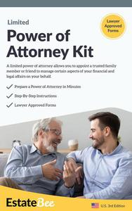 Limited Power of Attorney Kit: Make Your Own Power of Attorney in Minutes