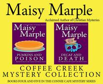 Connie Cafe Two Pack:  Pumpkins & Poison (Book 4)/Decaf & Death (Book 5)