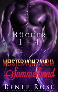 Meister-von-Zandia Sammelband - Bucher 1-4