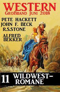 Western Großband Juni 2018 – 11 Wildwest-Romane