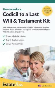 Codicil to a Last Will & Testament