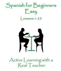Spanish for Beginners Easy 1-25