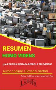 Resumen de Homo Videns