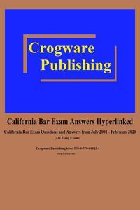 California Bar Exam Answers Hyperlinked