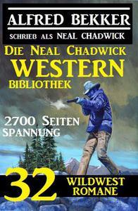 Die Neal Chadwick Western Bibliothek: 32 Wildwestromane, 2700 Seiten Spannung