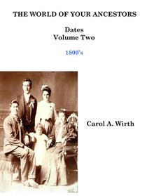 The World of Your Ancestors - Dates - 1800 - 1899