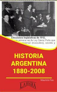 Historia Argentina, 1880-2008