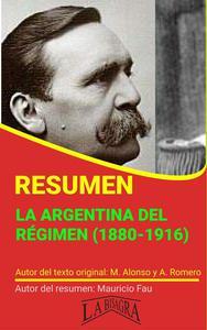 Resumen de La Argentina del Régimen (1880-1916)