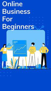 Online Business For Beginners