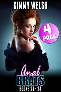 Anal Brats Books 21 – 24 : 4-Pack