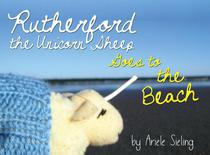 Rutherford the Unicorn Sheep Goes to the Beach