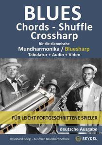 Blues - Chords - Shuffle, Crossharp für die diatonische Mundharmonika / Bluesharp