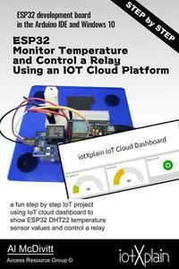 ESP32 Monitor Temperature and Control a Relay Using an IOT Cloud Platform