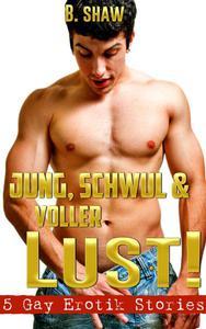 Jung, schwul & voller Lust! 5 Gay Erotik Stories