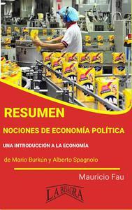 Resumen de Nociones de Economía Política