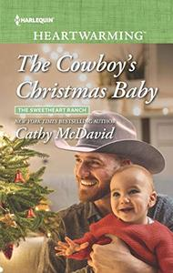 The Cowboy's Christmas Baby: A Clean Romance