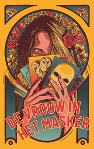 De vrouw in het masker