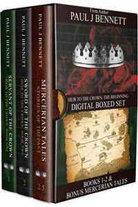 Heir to the Crown Box Set 1: Books: 1, 2, & 2.5