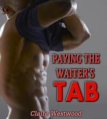 Paying the Waiter's Tab: A Gay, Anal Virgin erotic tale