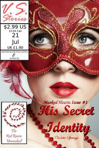 His Secret Identity: Masked Hearts (BBW Billionaire Superhero Erotic Romance)