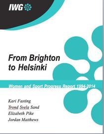 IWG Progress Report--From Brighton to Helsinki