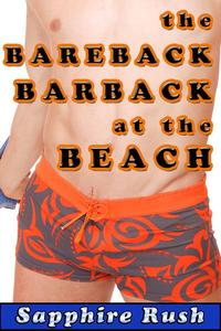 The Bareback Barback at the Beach (CBT MMF menage)
