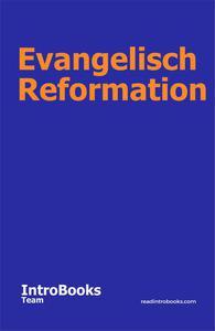 Evangelisch Reformation