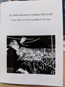 Allama Rasheed Turabi Fan Club - Year One
