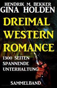 Dreimal Western Romance - 1300 Seiten spannende Unterhaltung