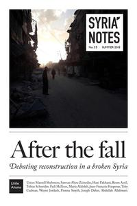 Syria Notes: After the fall