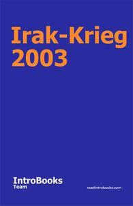 Irak-Krieg 2003