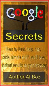 Google Secrets Bible