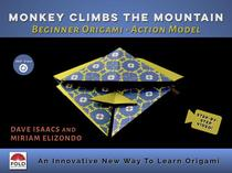 Origami Action Toy Model: Monkey Climbs the Mountain