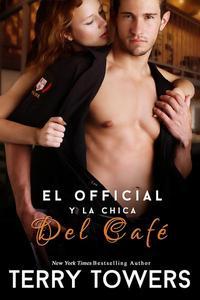 El oficial y la chica del café