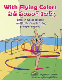 With Flying Colors - English Color Idioms (Telugu-English)
